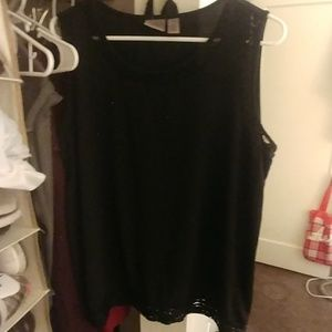 NWOT Easywear by Chico's Tunic w/Lace